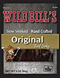 Wild Bill's 3oz Hickory Smoked Beef Jerky Packs (4 re-sealable 3oz beef jerky packs per bag)