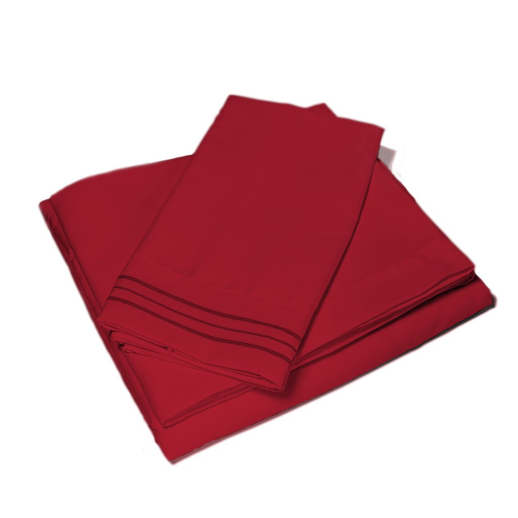 Red Nomad Microfiber Bedding Set