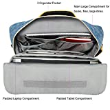 3 in 1 Hybrid 17.3 Inch Shoulder Bag Backpack for