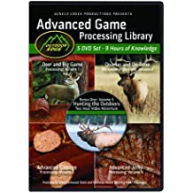 Outdoor Edge AP-101 Advanced Game Processing DVD Library Volumes 1-4 with Nine Hours of Home Processing Knowledge Plus 2-Hour Bonus Hunting DVD