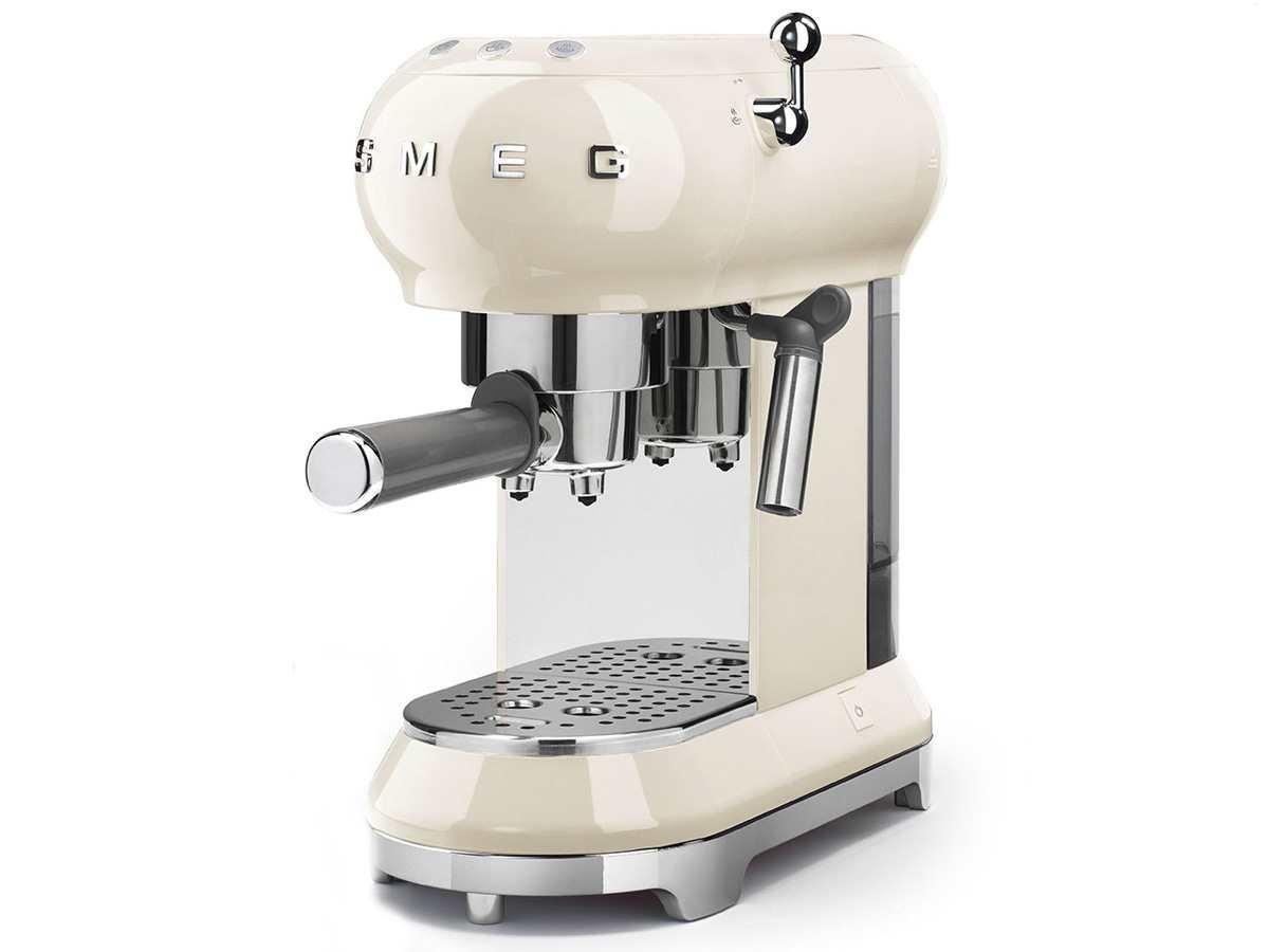 ECF01 - Máquina de café con portafiltro crema/14,9 x 33 x 30cm: Amazon.es: Hogar