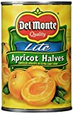 #5: Del Monte Unpeeled Apricot Halves, Heavy Syrup, 15 oz, 3 pk