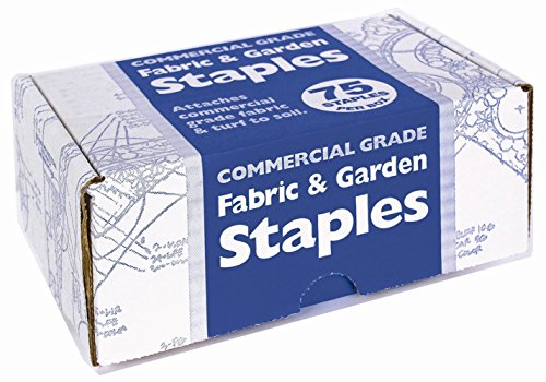 Easy Gardener Fabric & Garden Staples Attaches Landscape Fabric and Turf to Soil (4 inches x 1 inch) 225 Pack - Easy Gardener Garden
