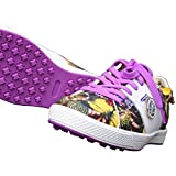 KARAKARA Spike-less Golf Shoes, KR-403, Purple, 250 mm, for Women