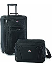 Luggage Fieldbrook II 2 Piece Set, Black, One Size