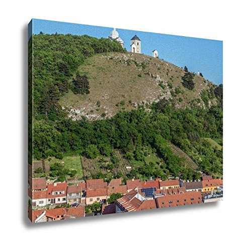 Ashley Canvas, Holy Hill With Saint Sebastian Chapel In Mikulov Town In Czech Republic, Home Decoration Office, Ready to Hang, 20x25, AG6006442 by Ashley Canvas