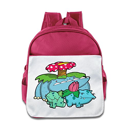 MoMo Unisex Venusau Ivysaur Bulbasaur Boy Girl Lunch Bag For Little Kids