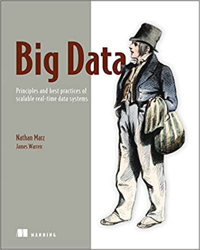 Portada libro Big Data: Principles and best practices of scalable realtime data systems