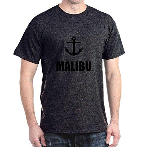 Cafepress Malibu Anchor T Shirt   100  Cotton T Shirt