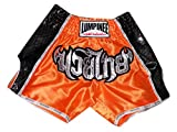 Lumpinee Retro Muay Thai Boxing Shorts LUMRTO-003-Orange size L