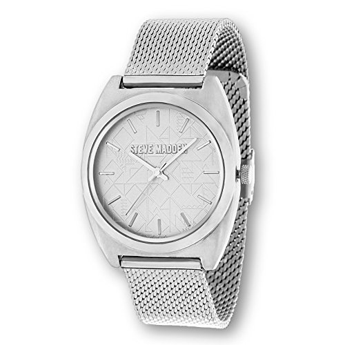 Quartz and Alloy Casual Watch, Color:Silver-Toned (Model: SMW013) (Senior Multi Rainbow Light)