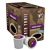 low acidity instant coffee - Caza Trail Coffee, French Roast, 24 Single Serve Cups