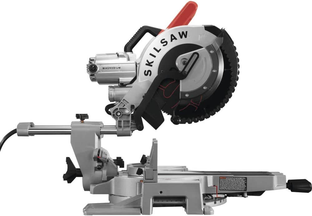 SKILSAW SPT88-01 12 In. Worm Drive Dual Bevel Sliding Miter Saw