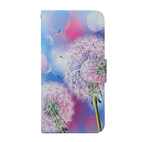 "MOONCASE iPhone 6 Case Leder Tasche Flip Case Schutzhülle Etui Kartenfächer Hülle Schale Cover für iPhone 6 (4.7"") -ZD04"