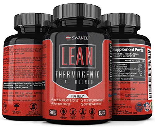 Premium Fat Burner, Metabolism Booster & Appetite Suppressant for Weight Loss. Thermogenic Fat Burner for Men and Women. Advanced Weight Loss for Women and Men.