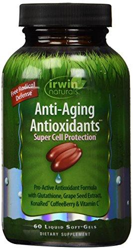 Irwin Naturals Anti Aging Antioxidants Diet Supplement, 60 Count