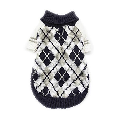 Amazon.com : BingYELH Puppy Dog Cat Knitted Sweater Pet Designer Dog Cat Soft Crochet Knit Sweatershirt Pullover Jumper for Pets : Pet Supplies