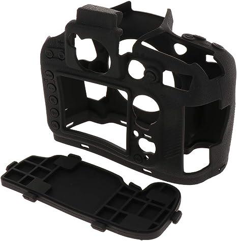 Estuche Funda Protector en Silicona Blanda a Prueba de Choques para Nikon D800 - Negro: Amazon.es: Deportes y aire libre