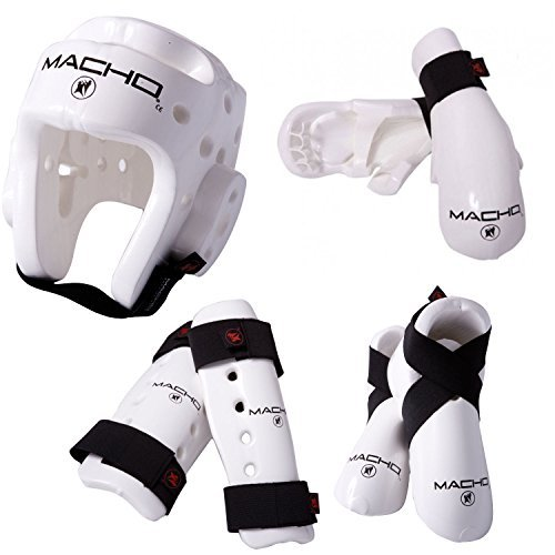 Macho Dyna 7 piece sparring gear set with - 7 Piece Art Set