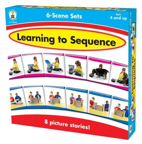 Carson-Dellosa Publishing 6-Scene, Learning to Sequence