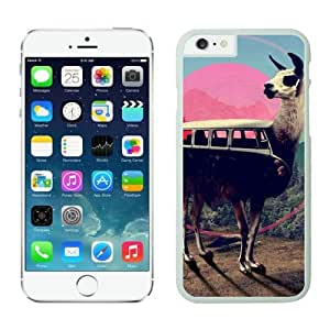 FAGUO Most Popular llama iPhone 6 Case White by lolosakes