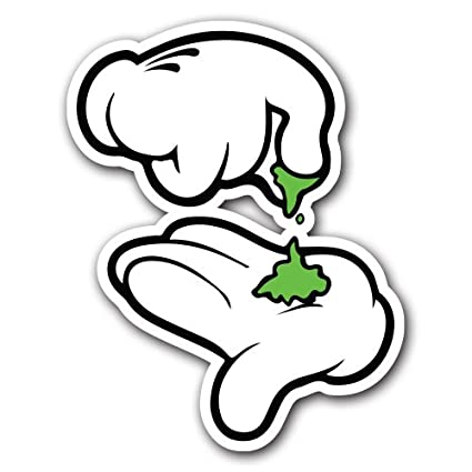 Break up weed sticker bomb decal series cartoon graffiti car wrap laptop jdm ken