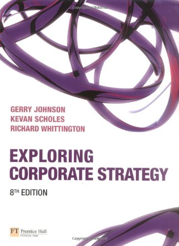 Exploring Corporate Strategy with Companion Website Student Access Card (8th Edition)