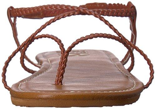 Donna Billabong Che Incrocia 2 Mocassini Con Sandalo Piatto