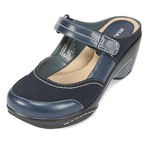 Rialto Mystical' Women's Mule, Navy - 6.5 (Blue Womens Clogs)