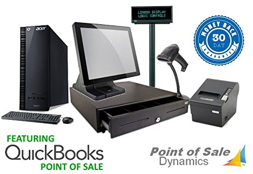 Retail Point of Sale Bundle Featuring Compatible with MS RMS, Intuit POS