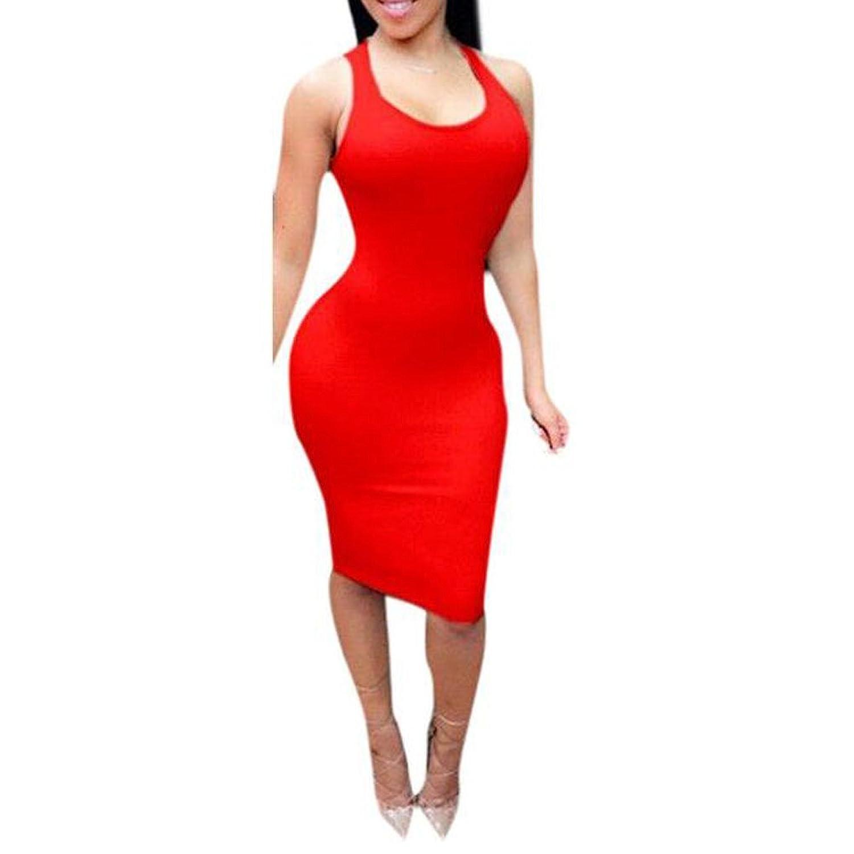 Donalworld@ Women Sexy Bodycon Bandage Cocktail Short Mini Dress