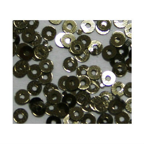 Zink Color Nail Art Spangles Hollow Circle Bronze 100Pc Cell Phone Embellishment