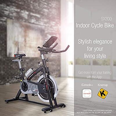 SporTSTech Sx200 - Bicicleta de Ciclo Indoor Profesional con ...