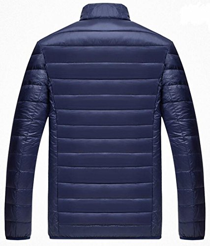 Premium EKU Down Puffer Weatherproof Coat US Navy Packable Men's XS Blue Jacket qgwrg5Cx