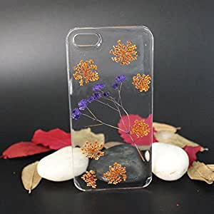 Exquisite Defense Two Tone Little Flower Cell Phone Cover for Samsung Galaxy S5