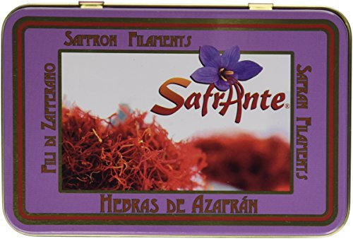 Pure Spanish Saffron Tin 28-Gram (1-Ounce) by Safrante