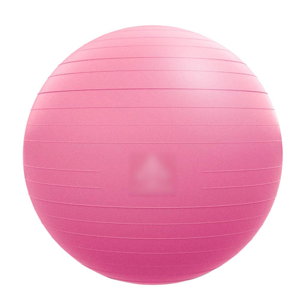 Sports Fitness Yoga Ball Thick Explosion-Proof Fitness Ball Pregnant Women Special Assisted Ball Weight Loss Yoga Ball Balance Ball Bouncy Ball (Load: 500kg) Exercise Ball Chairs