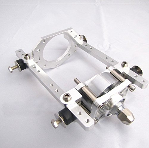 Zowaysoon CNC Aluminum Toy Parts Engine Mount With Clutch For RC Marine Engine 26/29/30CC