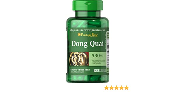 Dong Quai // Angelica sinensis , 530 mg 100 Cps MenoPausia (SPM): Amazon.es: Salud y cuidado personal