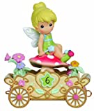 Precious Moments, Disney Showcase Collection, Have A Fairy Happy Birthday, Disney Birthday Parade, Age 6, Resin Figurine, 104408