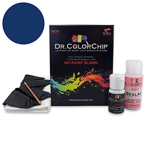 Dr. ColorChip Dodge Charger Automobile Paint - Jazz Blue Pearl PBX - Basic Kit