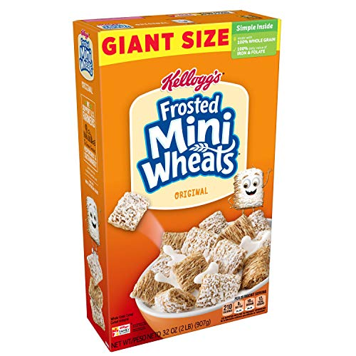 Frosted Mini-Wheats Breakfast Cereal, Original, 32 Ounce