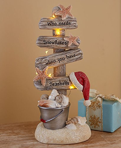 Collection Tree Holiday (The Lakeside Collection Seas and Greetings Lighted Christmas Tree -)