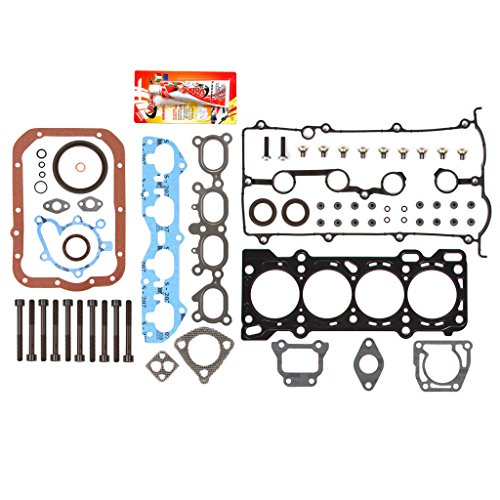 - Fits Mazda 2.0 FS DOHC Full Gasket Set Head Bolts