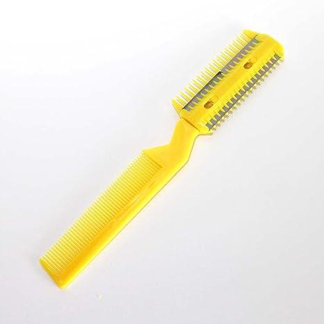 Bingqing marca profesional maquinilla de afeitar peine. DIY Profesional  tijeras pelo recortador de afeitar peine 57a515bf26b3