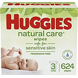 Care for your baby's delicate skin from the very start with HUGGIES Natural Care Baby Wipes. Safe for sensitive skin. The #1 branded wipe*, HUGGIES Wipes are dermatologically tested and hypo-allergenic. You can feel confident you're giving your baby ...