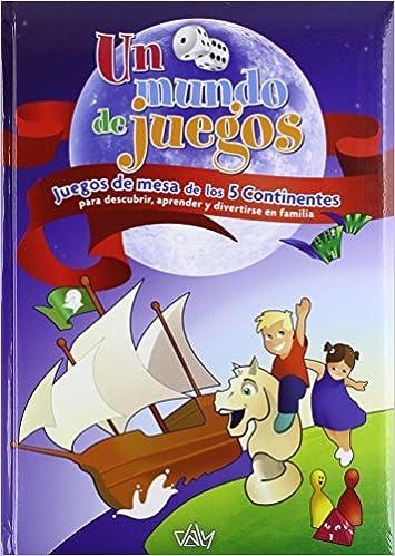 Un mundo de juegos: juegos de mesa de los cinco continentes: Amazon.es: Ediciones Daly S.L.: Libros