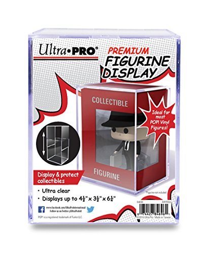 Ultra Pro Premium Figurine Display for Standard Funko POP! and Other Figurines