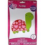Valentine's Day Turtles Foam Craft Kit - (Pack of 3)