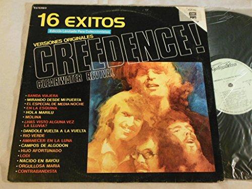 """Creedence Clearwater Revival - 16 Exitos Versiones Originales - Mexico Pressing Vinyl Lp €"""" Golondrina €"""" Lp Lpg-3127  Pop-794 - Zortam Music"""